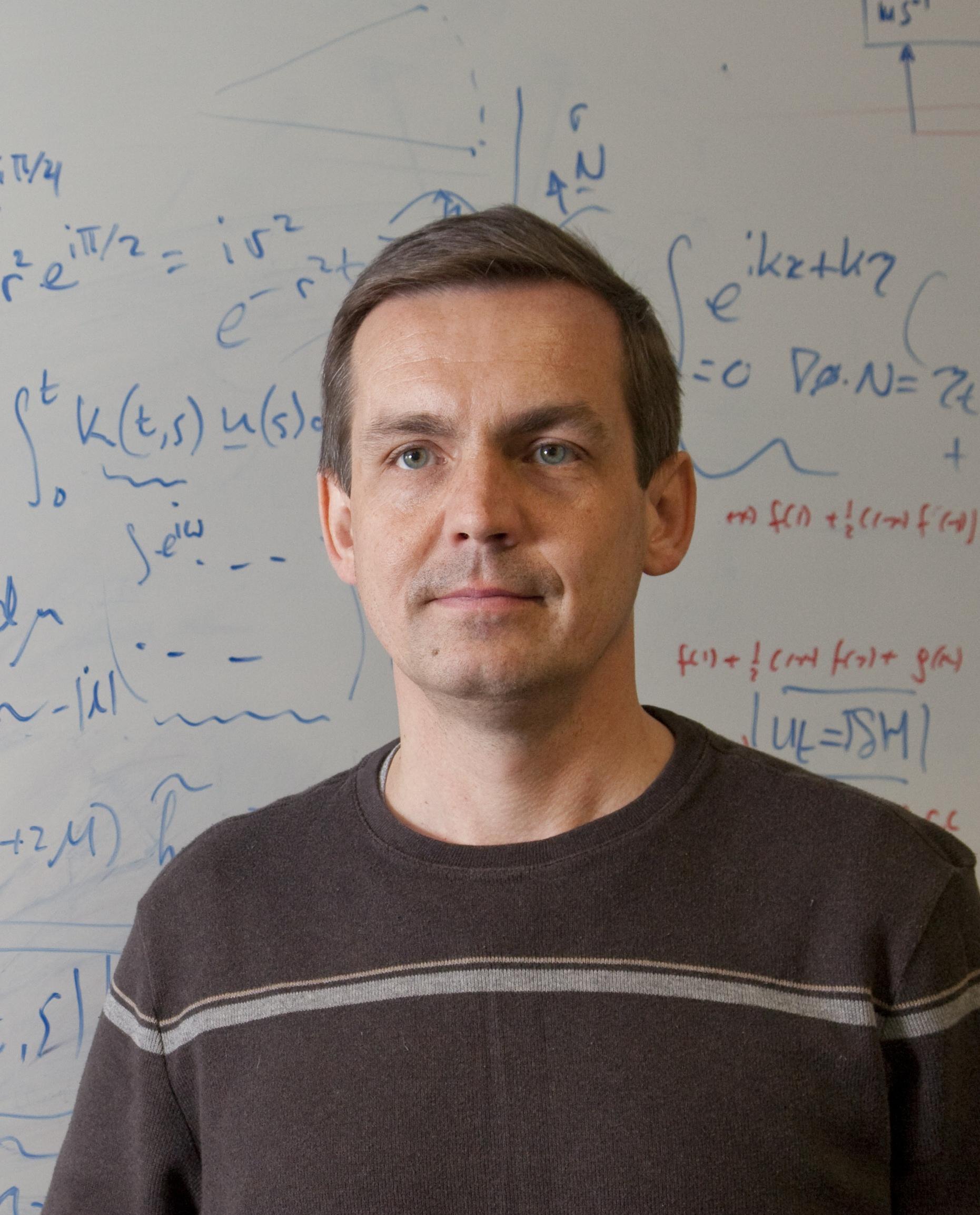 Prof. Pavel S. Berloff : Admissions tutor