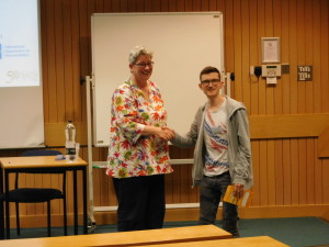 MPE CDT student Matthew Garrod awarded 2nd prize